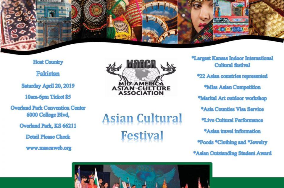 Asian Festival April 20th