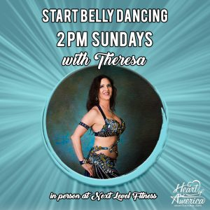 Start Belly Dancing with Theresa